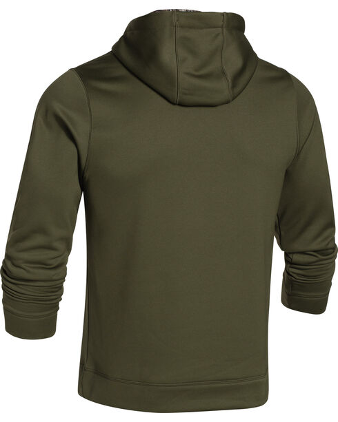 Under Armour Men's UA Storm Caliber Water-Resistant Camo Hoodie, Camouflage, hi-res
