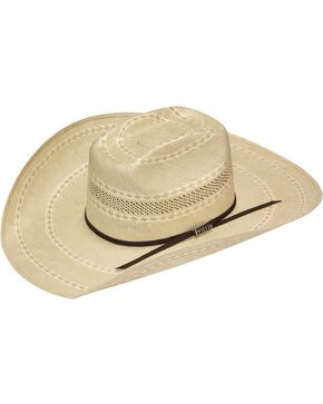 Twister 20X Shantung Straw Cowboy Hat, Tan, hi-res