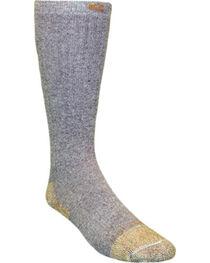 Carhartt Grey Full Cushion Steel-Toe Cotton Work Boot Socks - 2 Pack, , hi-res