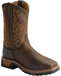 Tony Lama Men's TLX Compostie Toe Square Toe Western Work Boots, , hi-res