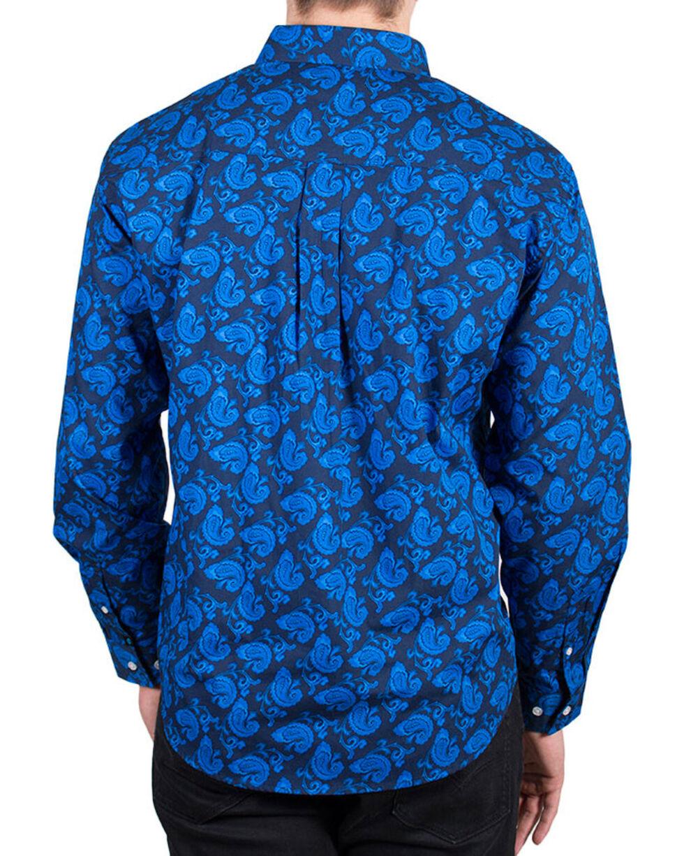 Cody James® Men's Paisley Printed Long Sleeve Shirt, , hi-res