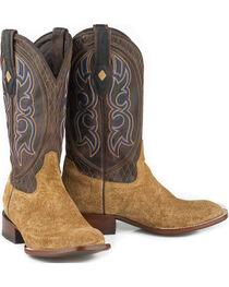 Stetson Men's Butte Hippopotamus Exotic Boots, , hi-res