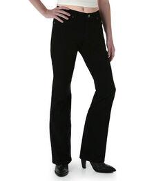 Wrangler Women's Black Magic Ultimate Riding Q-Baby Jeans - Plus , , hi-res
