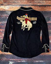 Tasha Polizzi Women's Black Bronco Shirt , , hi-res
