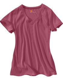 Carhartt Women's V-Neck T-Shirt, , hi-res