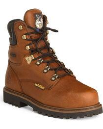 Georgia Men's Steel Toe Metatarsal Guard Work Boots, , hi-res