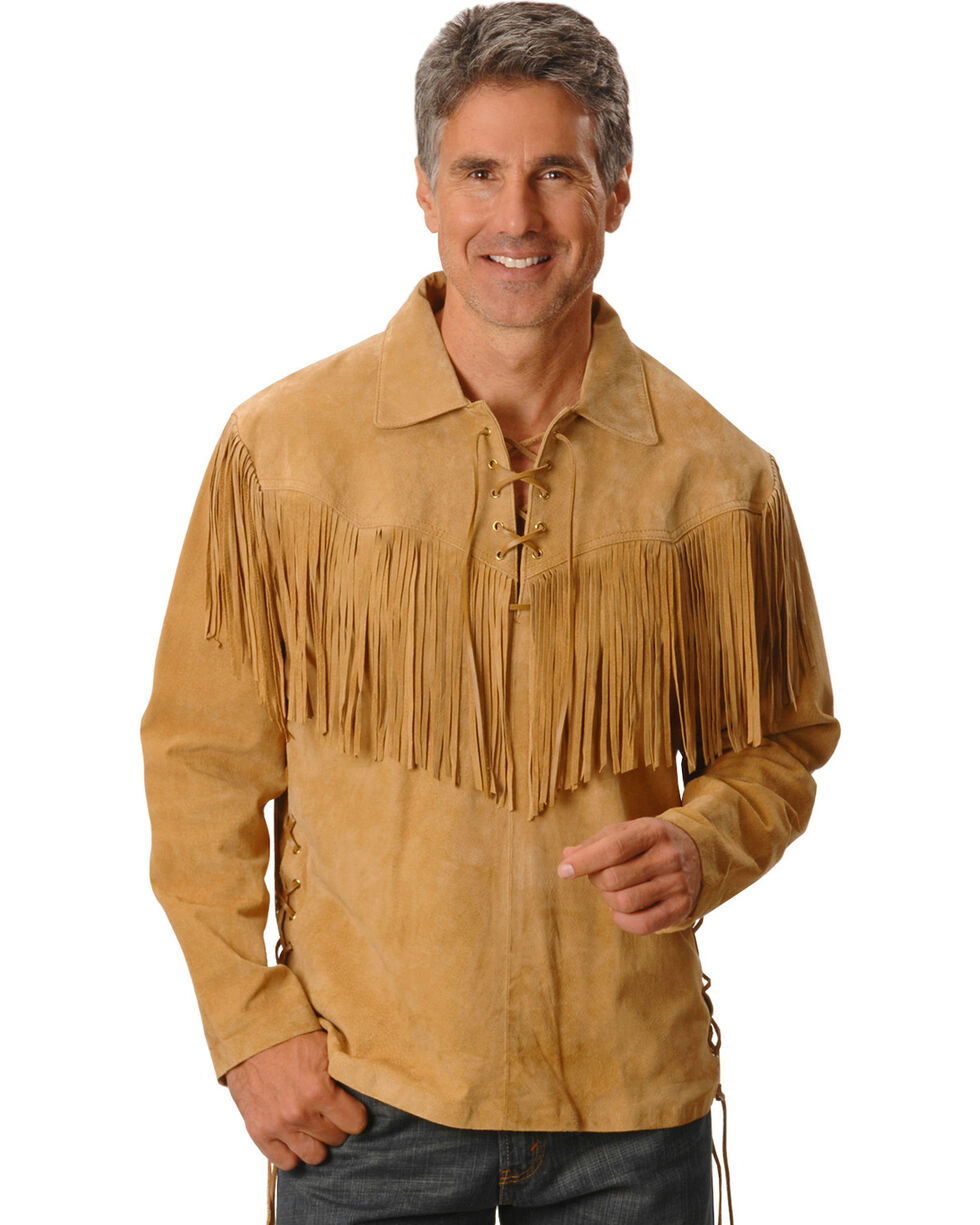 Scully Men's Mountain Man Shirt, Tan, hi-res