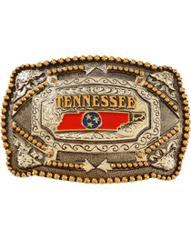 Cody James® Tennessee Flag Belt Buckle, , hi-res
