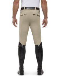 Ariat Men's Olympia Front Zip Knee Pad Riding Breeches, , hi-res