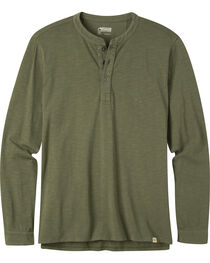 Mountain Khakis Men's Mixter Olive Henley Shirt, Olive, hi-res
