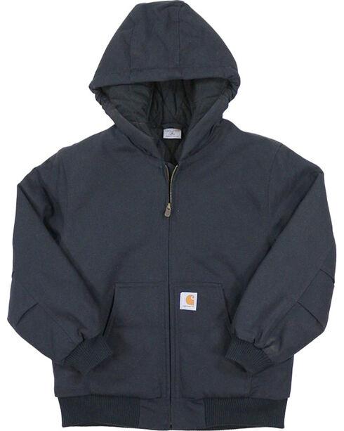 Carhartt Kids' Active Quilted Jacket, Black, hi-res