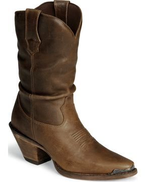 Durango Women's Crush Sultry Slouch Boots, Brown, hi-res