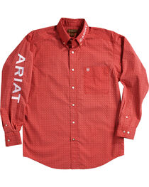 Ariat Men's Batson Print Casual Classic Logo Shirt, , hi-res