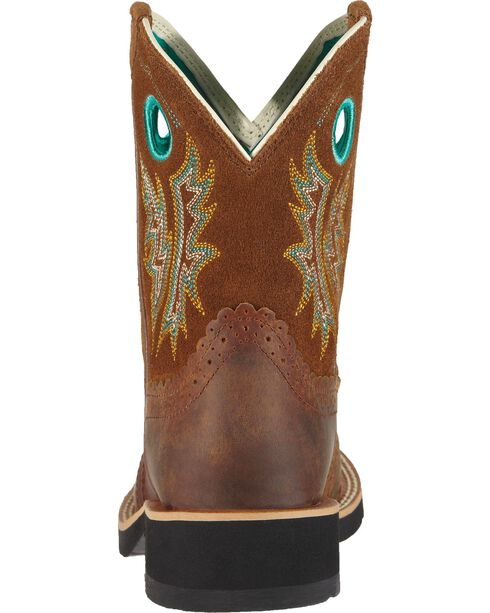Ariat Women's Fatbaby Cowgirl Western Boots, Brown, hi-res
