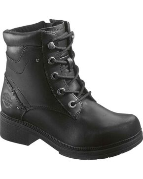 Harley-Davidson Women's Elowen Fashion Boots, Black, hi-res