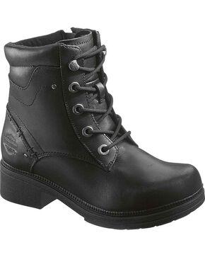 Harley-Davidson Women's Elowen Fashion Boots, Black, hi-res