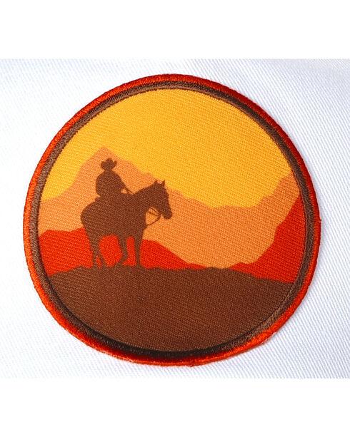 Cody James Men's Western Sunset Trucker Cap, Brown, hi-res