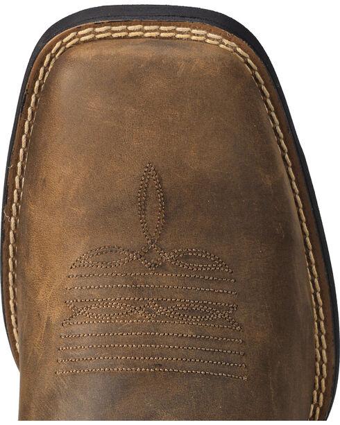 Ariat Men's Distressed Brown Sage Camo Sport Patriot Western Boots - Square Toe , Brown, hi-res