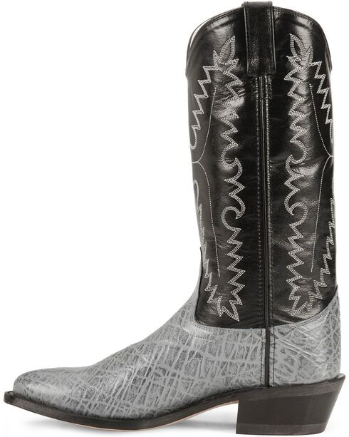 Old West Men's Elephant Print Western Boots, , hi-res
