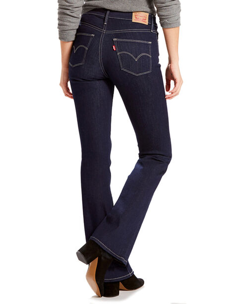 Levi's Women's Slimming Boot Cut Jeans, Blue, hi-res