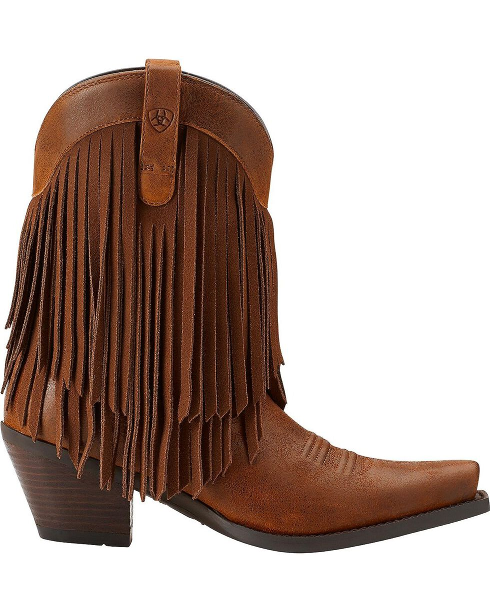 Ariat Women's Gold Rush Western Boots, Brown, hi-res