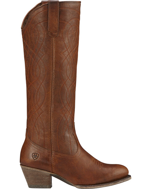 Ariat Women's Singsong Western Fashion Boots, Wood, hi-res