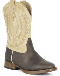 Roper Youth Boys' Billy Western Boots - Square Toe , , hi-res