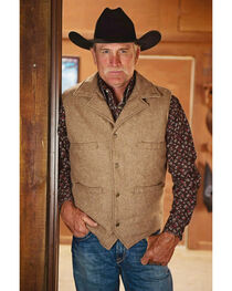 STS Ranchwear Men's Wool Ace Vest, , hi-res