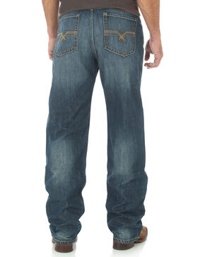 Wrangler 20X Men's Indigo No.33 Extreme Relaxed Fit Jeans - Straight Leg, Indigo, hi-res