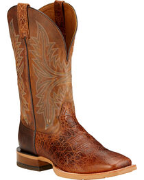 Ariat Men's Cowhand Western Boots, , hi-res