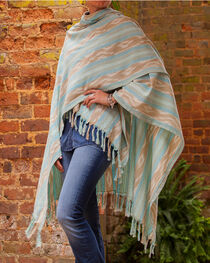 Ryan Michael Women's Ikat Shawl , , hi-res