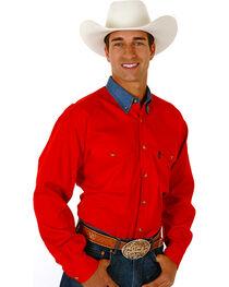Roper Contrast Collar Twill Shirt, , hi-res