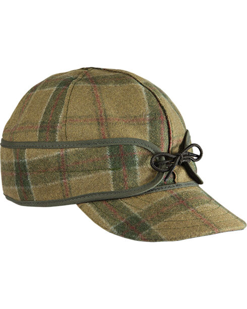 Stormy Kromer Men's Red Pine Original Cap, Multi, hi-res