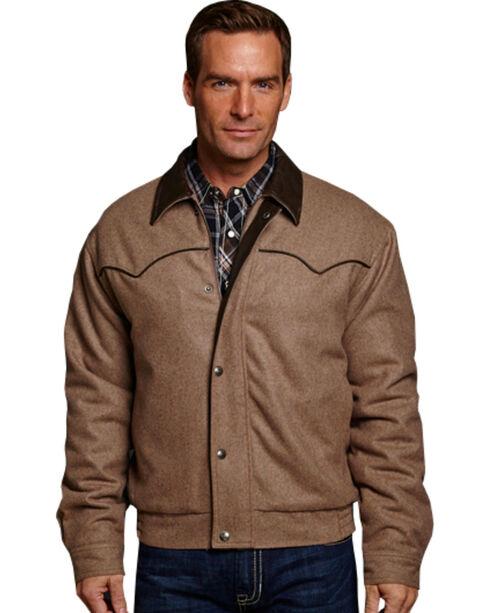 Cripple Creek Men's Wool Coat, Tan, hi-res