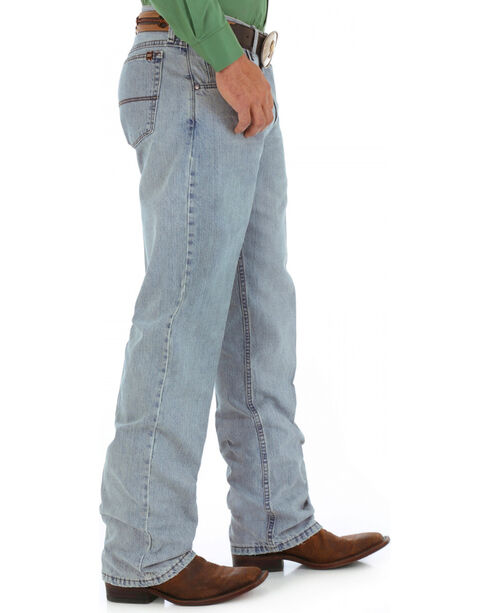 Wrangler 20X Men's No. 33 Relaxed Straight Leg Jeans, Blue Frost, hi-res