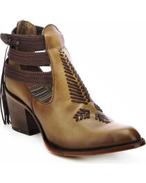 Corral Women's  Open-Sided Western Booties, , hi-res