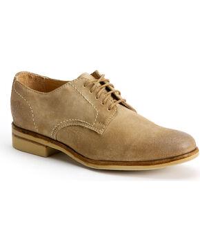 Frye Women's Jill Oxford Shoes - Round Toe, Sand, hi-res