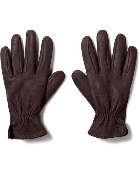 Filson Men's Original Deer Gloves, Brown, hi-res