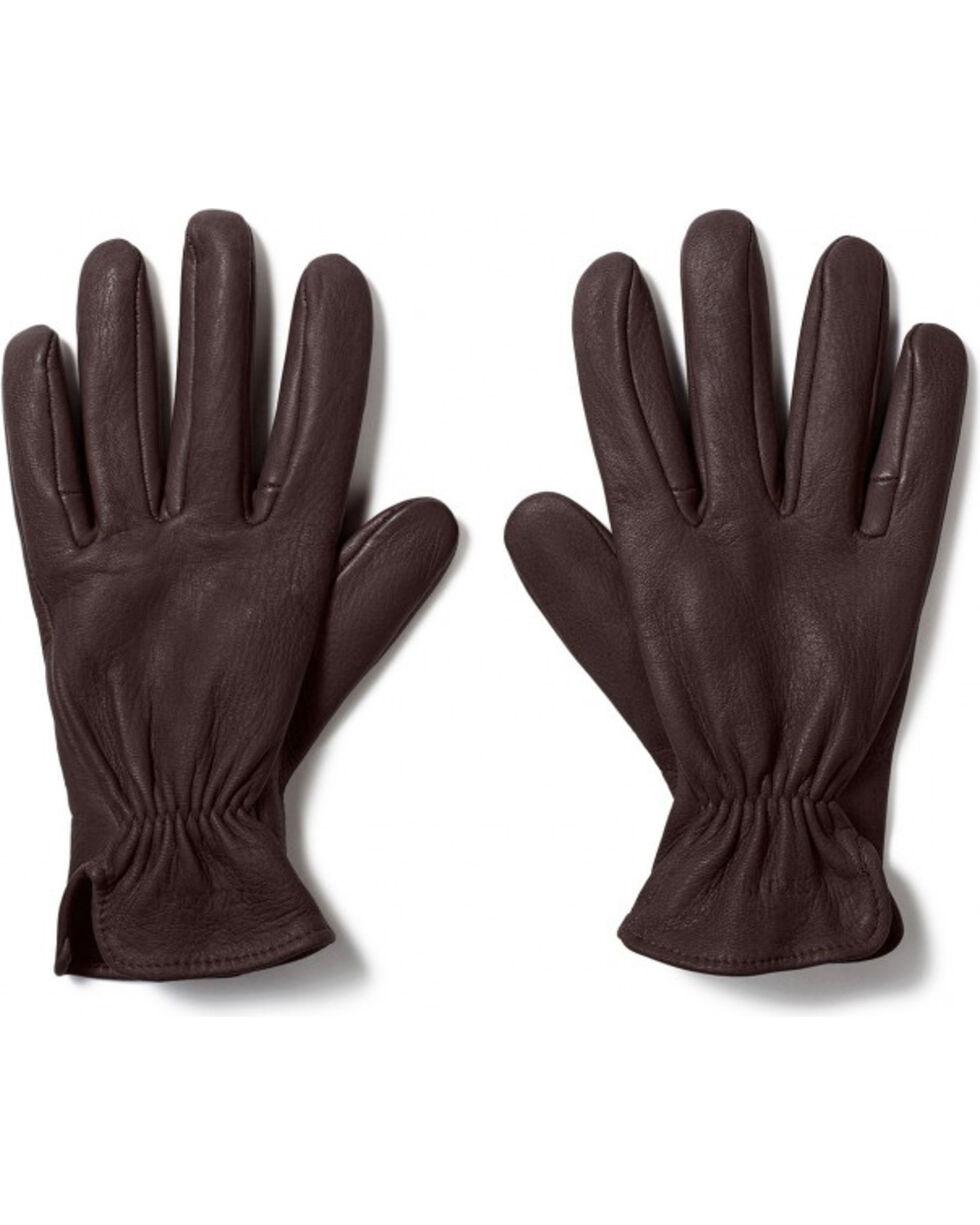 Filson Men's Original Deerskin Gloves, Brown, hi-res