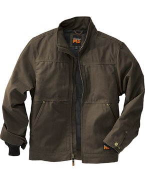 Timberland Pro Men's Baluster Work Jacket, Dark Brown, hi-res