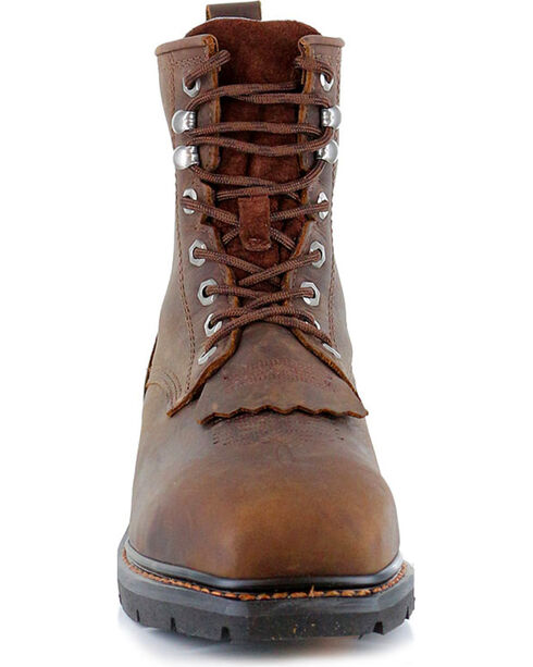 Cody James® Men's Composite Square Toe Waterproof Work Boots, Brown, hi-res