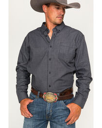 Cody James Core Men's Flankman Checkered Long Sleeve Shirt, , hi-res