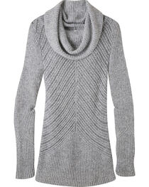 Mountain Khakis Women's Charcoal Countryside Cowl Neck Sweater, , hi-res