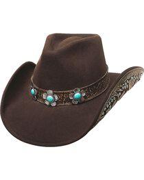 Bullhide Women's Sweet Emotion Wool Hat, , hi-res