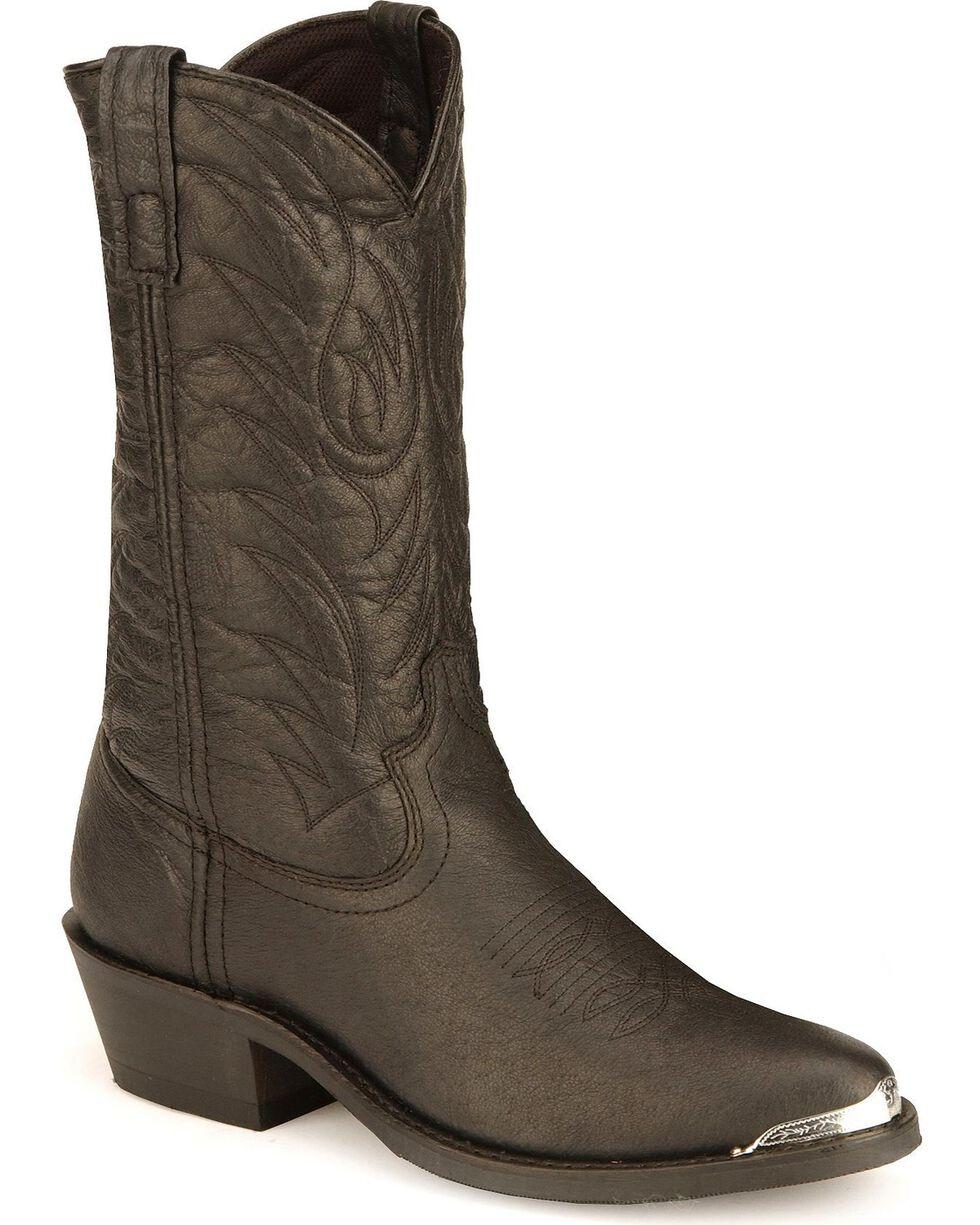 Laredo Men's East Bound Western Boots, Black, hi-res