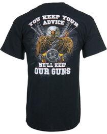 Buck Wear Men's Keep Your Advice Tee, , hi-res