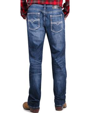 Rock & Roll Cowboy Men's Pistol Straight Leg Jeans, Blue, hi-res