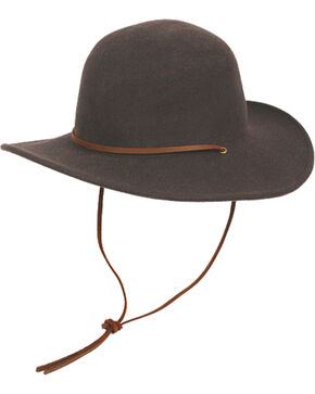 Peter Grimm Women's Miranda Dark Brown Wool Hat, Dark Brown, hi-res