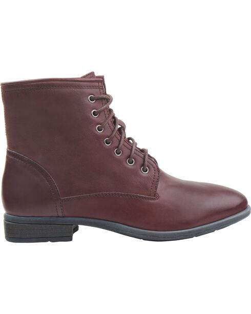 Eastland Women's Brown Juliana Plain Toe Boots  , Brown, hi-res