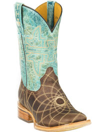 Tin Haul Dreamcatcher Cowgirl Boots - Square Toe, , hi-res